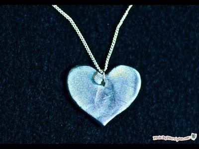 How To Make Clay Fingerprint Jewelry