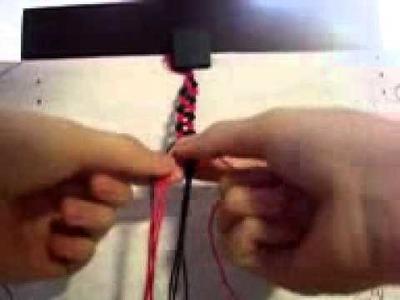 How to make friendship bracelet [chain(snake)]