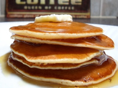 How to Make Pancakes - and Homemade Pancake Syrup!