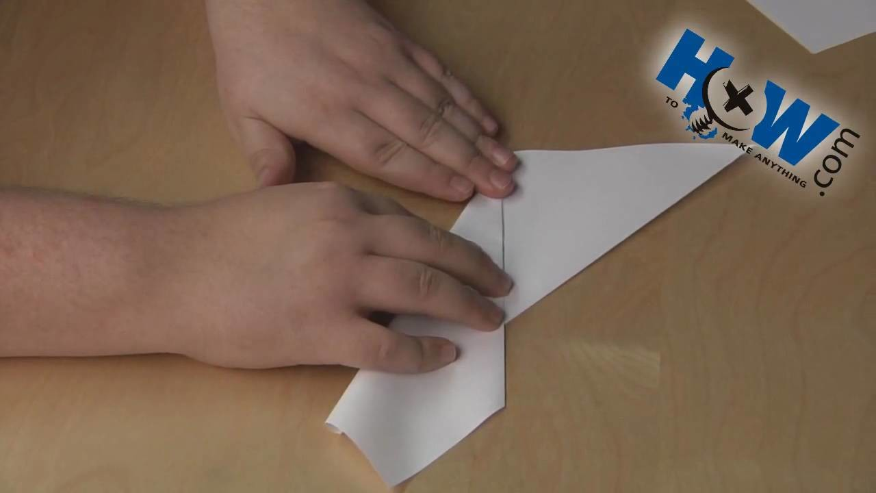 How to Make Paper Darts