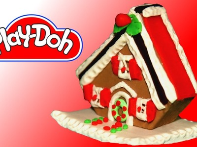 How to make Play Doh Gingerbread House