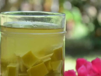 How to Make | Prepare Aloe Vera Oil at Home for Hair Growth, Face & Skin