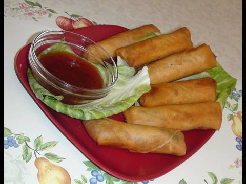 How to make Vegetable Spring Rolls Recipe by Bhavna