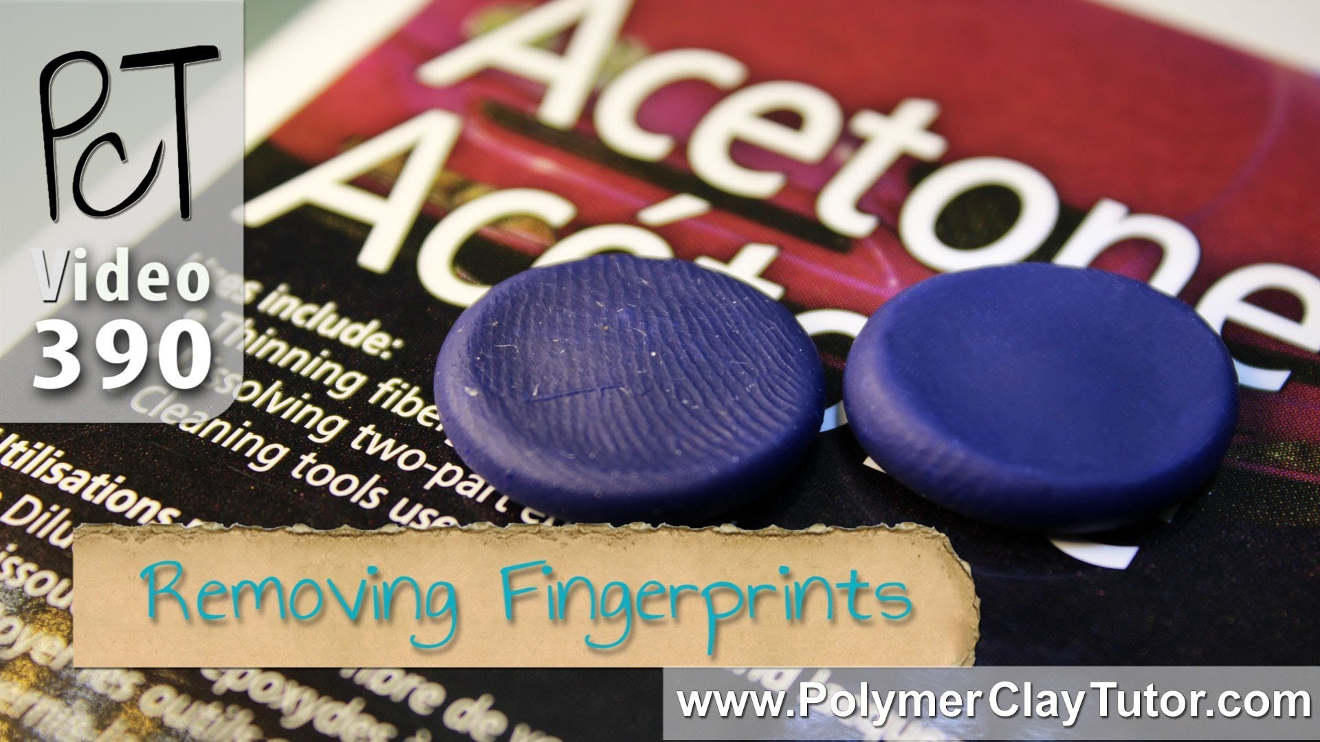 How To Remove Fingerprints From Polymer Clay Using Acetone