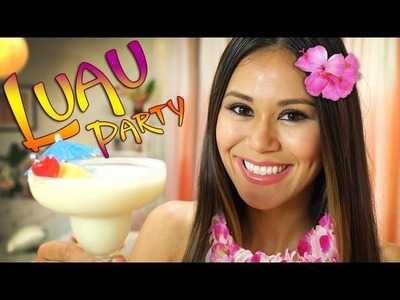 How to Throw a Lovely Luau | Tropical Party Ideas | Theme My Party