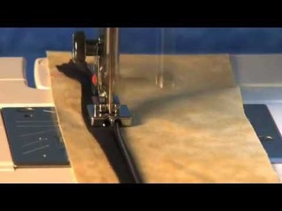 How to use Janome Concealed Zipper Foot
