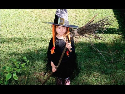 How to Witch costume: make a witch's hat