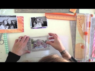 In the Mood to Scrap: Matchbook Mini with Kristina Nicolai-White (Two Peas in a Bucket)