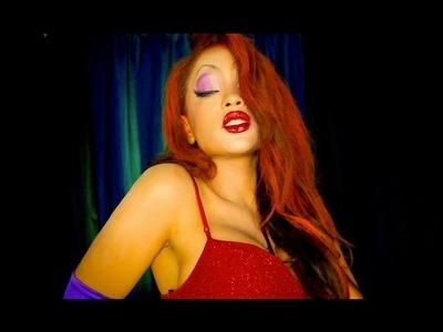 Jessica Rabbit Halloween Makeover!