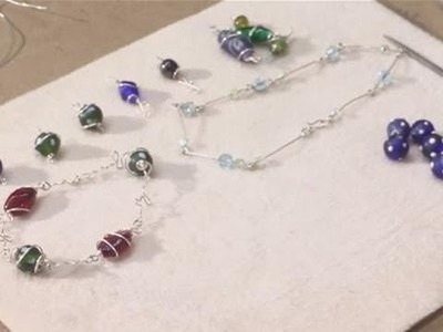 Jewellery : How To Make A Wire Wrap