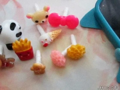 * ~ Kawaii Cellphone Dust-plugs ~ *
