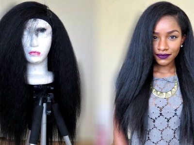 Kinky Straight Hairstyle Under $20! TheBrilliantBeauty
