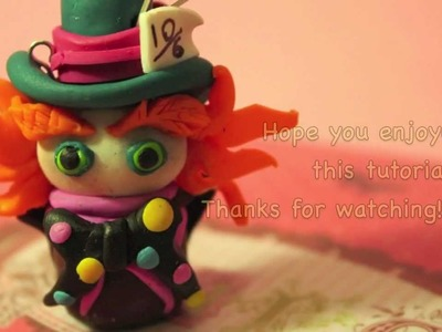 Mad Hatter - Polymer Clay - Tutorial