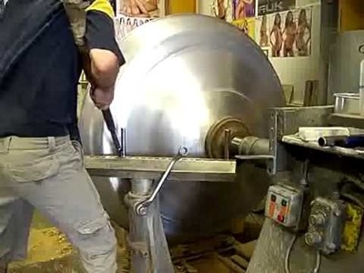 Metal spinning 1250mm dome Spinning part 2