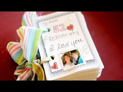 #PinterestSunday: Mother's Day 52 Reasons Why I Love You