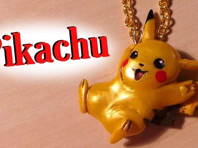 Pokemon; Pikachu Charm - Polymer Clay Tutorial