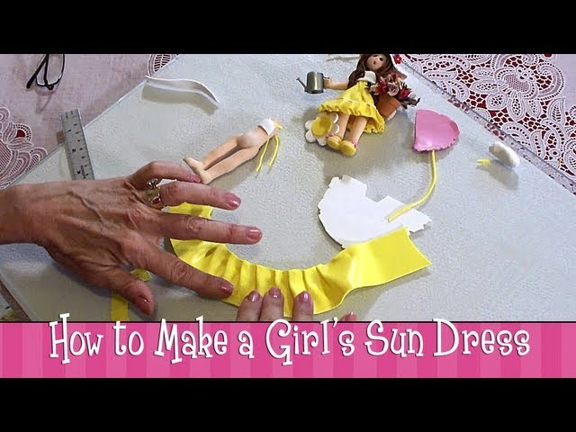 Polymer Clay Tutorial - How to Make a Girl's Sundress