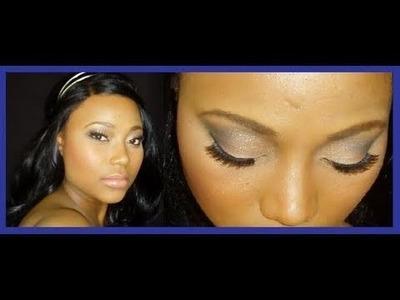 Prom Makeup Tutorial ★★RED CARPET STYLE★★ Smoky Eye