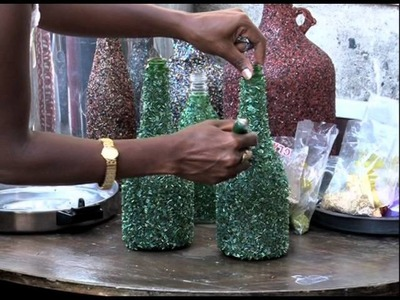 Recyling Wine Bottles Has Brought Treasure Out Of Trash