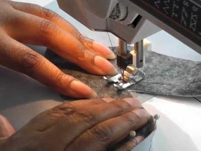 Sewing Facing to a V Neckline