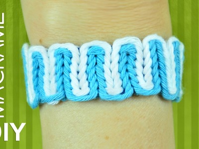 Simple and interesting Macrame bracelet