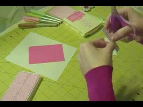 Stampin Up - Mini Cards and Envelopes