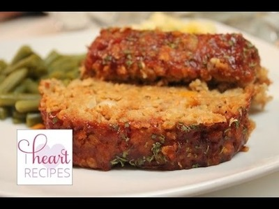 Turkey Meatloaf Recipe - how to make meatloaf