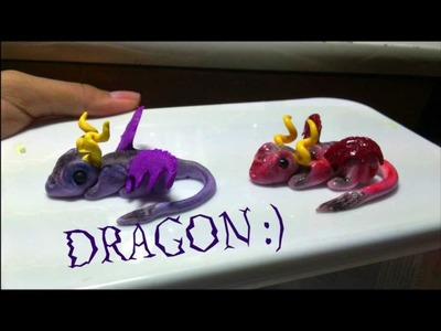 Tutorial : Polymer Clay Dragon