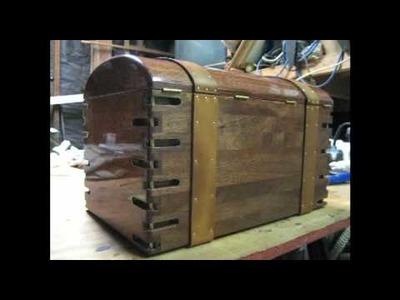 Unique wooden box