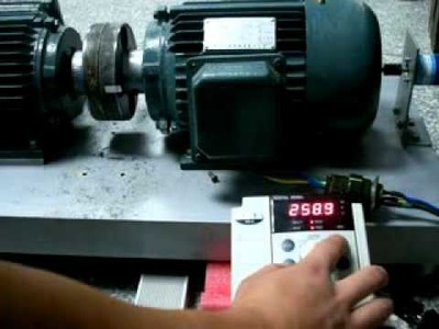 VTdrive ® VFD Performance Test The Motor Parameter Self-learning Function (in running)