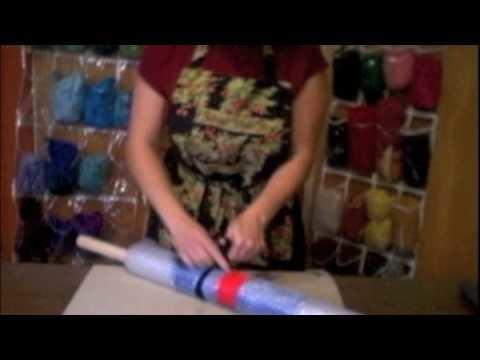 Wet felting part 7 - Fulling
