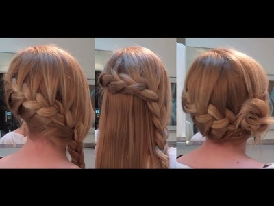 10 Easy Quick Everyday Hairstyles for long hair : Side French Braid Edition