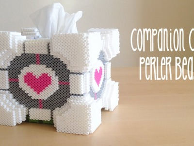 3D Portal Companion Cube Tissue Box Tutorial