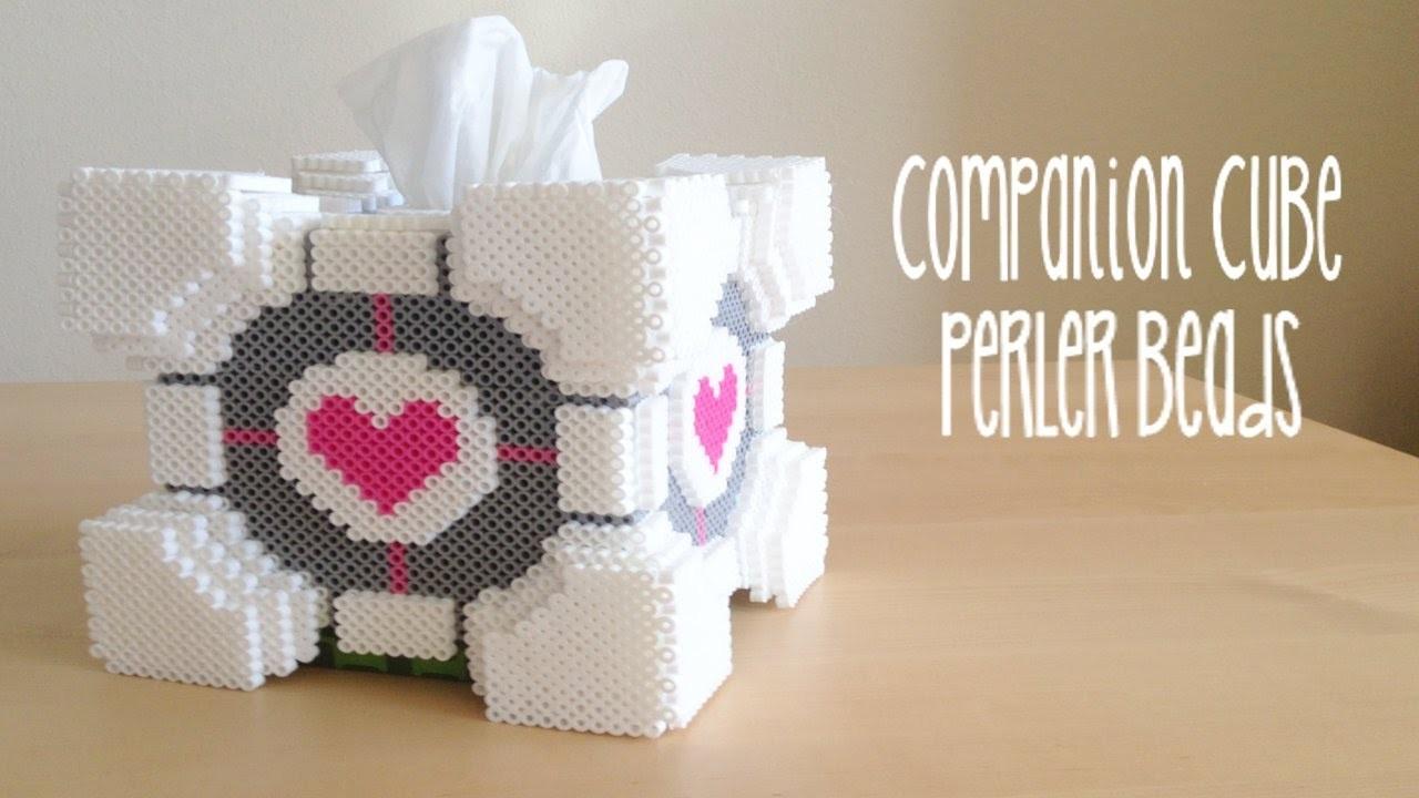 3D Portal Companion Cube Tissue Box Tutorial
