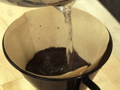 60-Second Video Tips: How to Make Pour-Over Coffee