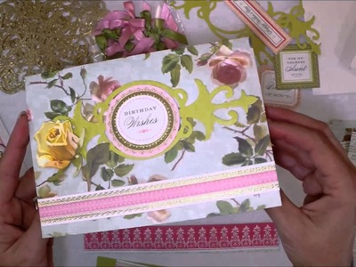 Anna Griffin Card Making Instructions