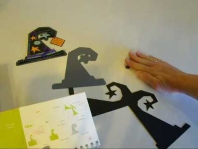 Best witches to you! - Mini Monsters Shape card