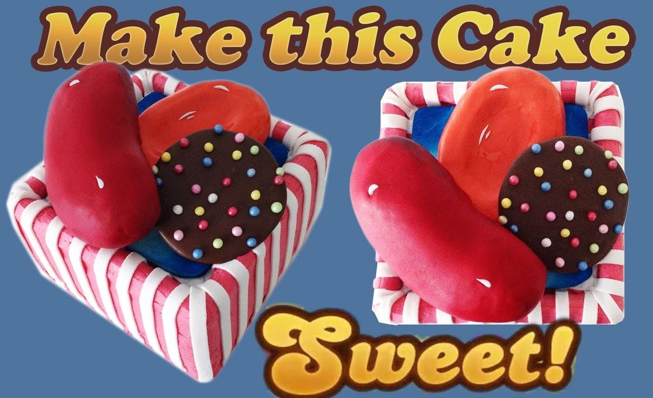 Candy Crush Saga Cake HOW TO COOK THAT Ann Reardon level 33 65 97