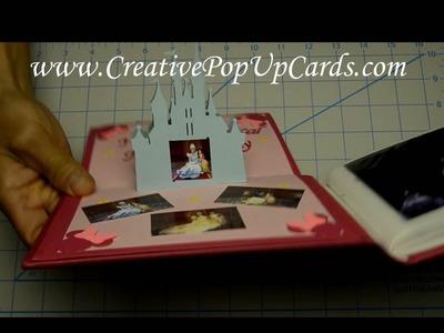Disney Castle Pop Up Card Tutorial