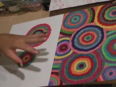 "DIY: Decorate School Supplies with Sharpie markers ""FIREWORKS"""