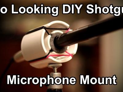 DIY Shotgun Microphone Mount - $3.22