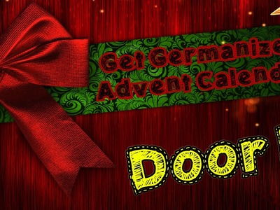 Door #3 | Get Germanized Advent Calendar - 24 Days Of Free German Chocolate