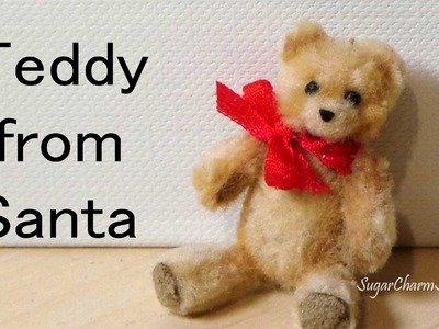 Easy, Cute Miniature Teddy Bear - Polymer Clay Tutorial