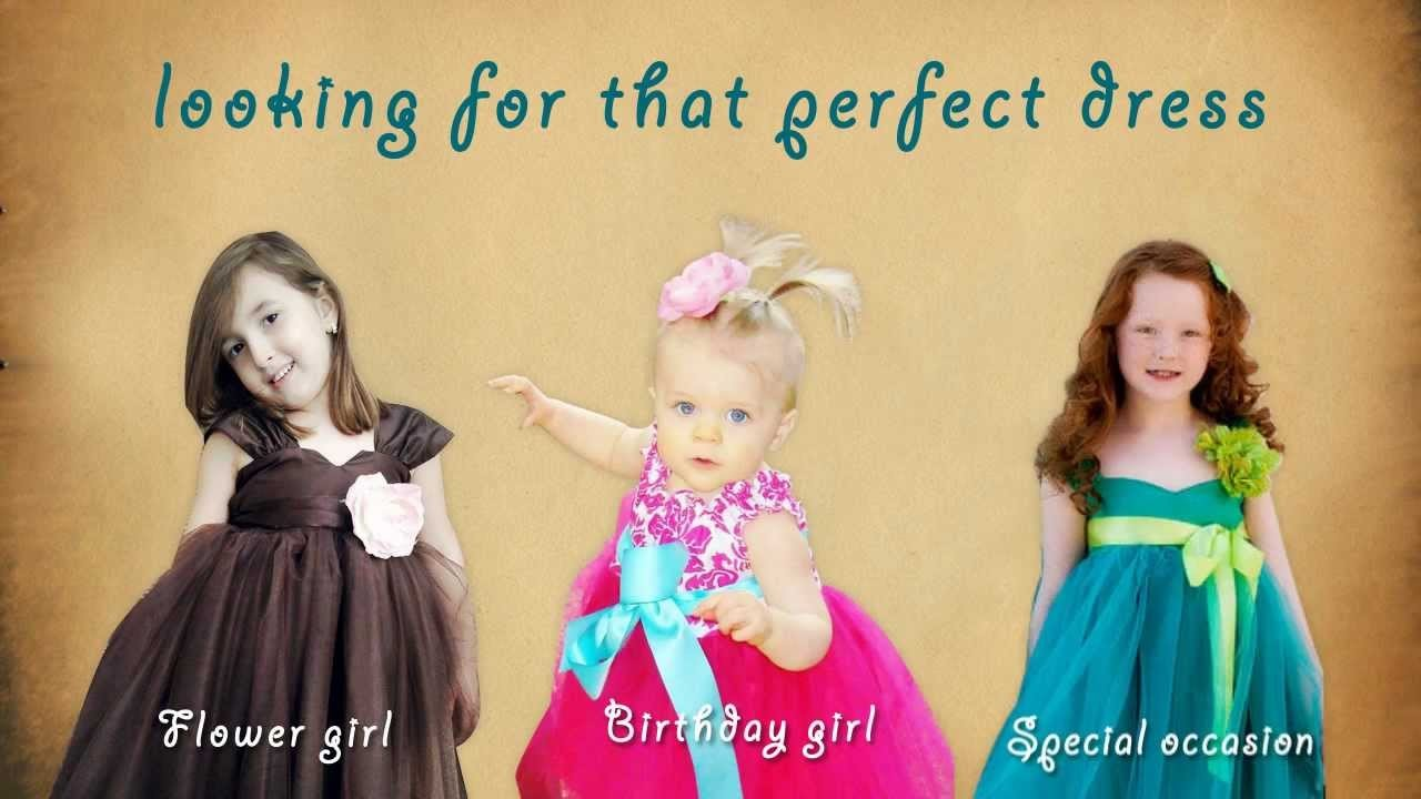 ~ Flower Girl Dresses by Olivia Kate Couture ~