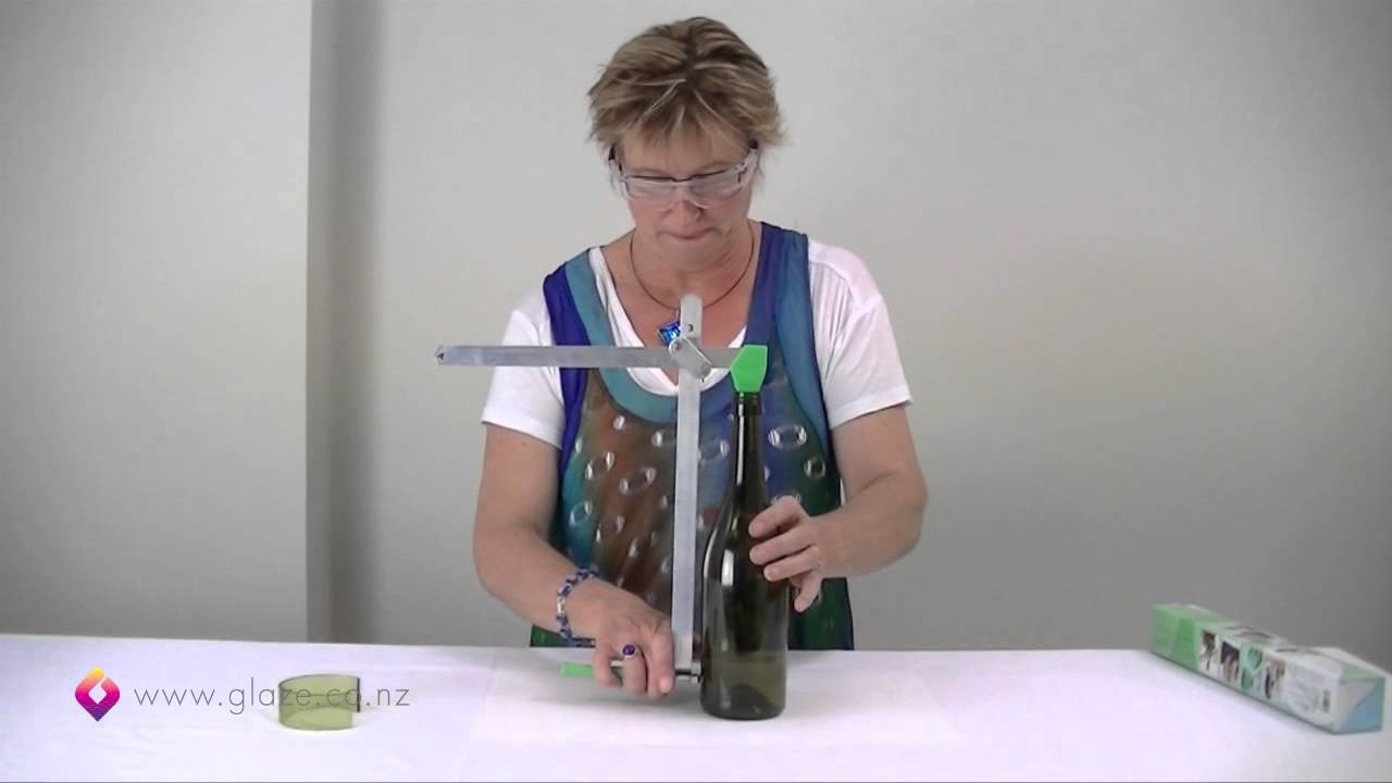 Glass Bottle Cutter - How to cut glass bottles Part 1