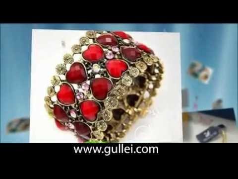 Handmade Multi Color Swarovski Crystal Bracelet