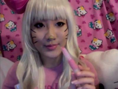 Hello Kitty Inspired Make-up Tutorial