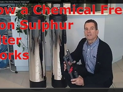 How a Chemical Free Iron Sulphur Filter Works