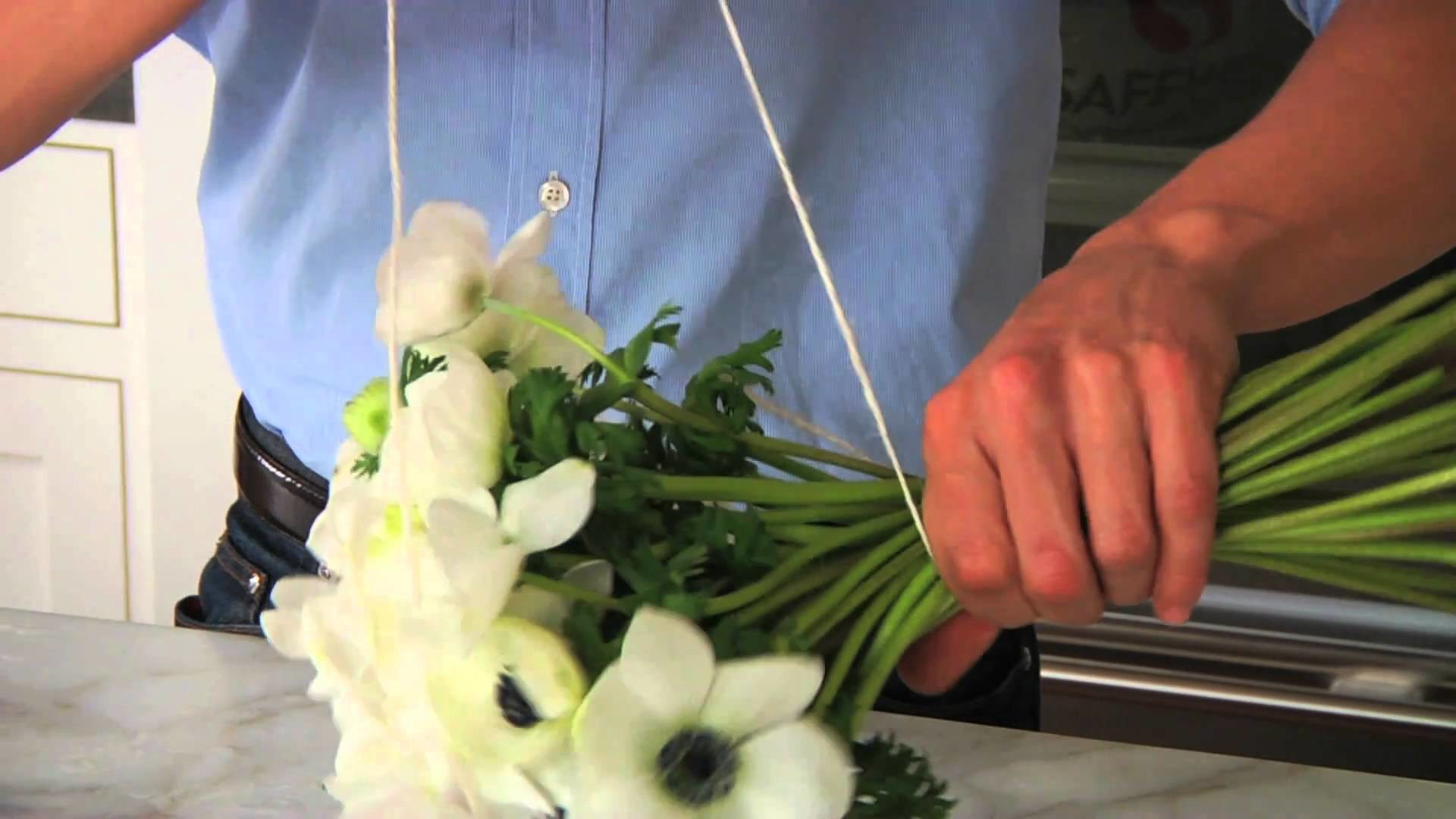 How to Create a Flower Bouquet with Nico De Swert | Pottery Barn