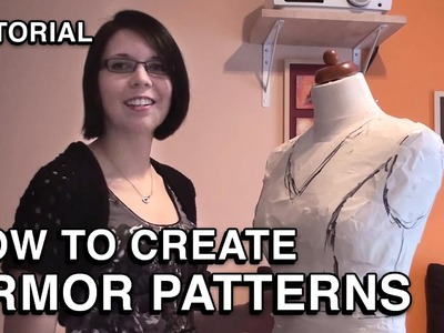 How to create Armor Patterns (for costumes)